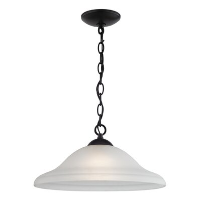 Canadice 1-Light Bowl Pendant Finish: Oil Rubbed Bronze