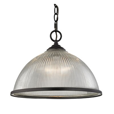 Grosse Traditional 1-Light Bowl Pendant Finish: Oil Rubbed Bronze