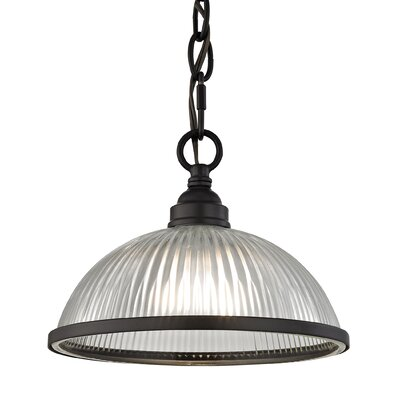 Grosse 1-Light Bowl Pendant Finish: Oil Rubbed Bronze