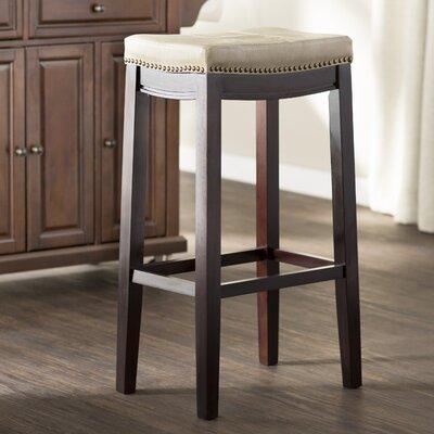 Russett 32 Bar Stool Upholstery: Jute