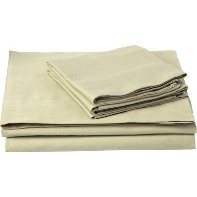 Southampton 200 Thread Count 100% Cotton Sheet Set Color: Sage, Size: Full