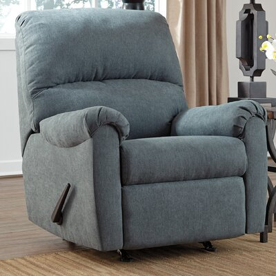 Osceola Rocker Recliner Color: Denim