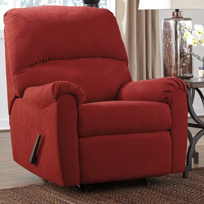 Osceola Manual Rocker Recliner Color: Crimson
