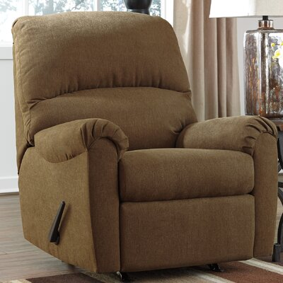 Osceola Manual Rocker Recliner Color: Basil