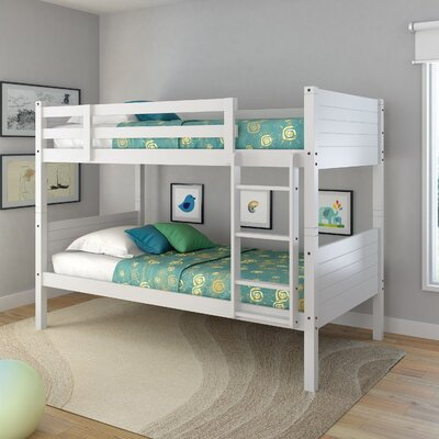 Tyre Twin Bunk Bed Finish: Snow White