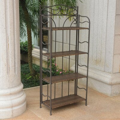Meetinghouse �tag�re Bakers Rack Finish: Antique Brown