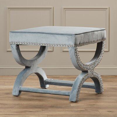 Weybossett Ottoman Upholstery: Grey