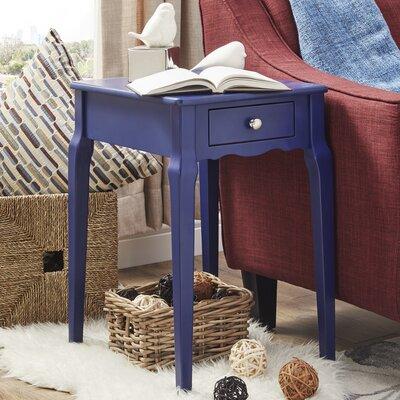 Pinckney End Table Color: Twilight Blue