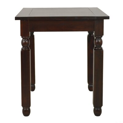 Weaver End Table Color: Mahogany