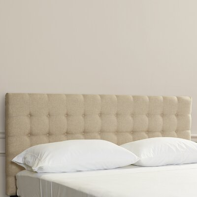 Pomfret King Upholstered Panel Headboard