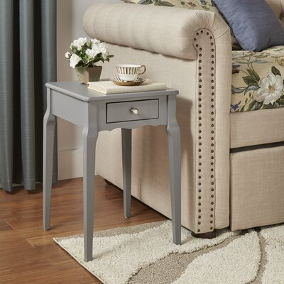 Pinckney End Table Color: Frost Grey