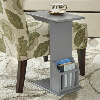 Penfield End Table Color: Frost Gray