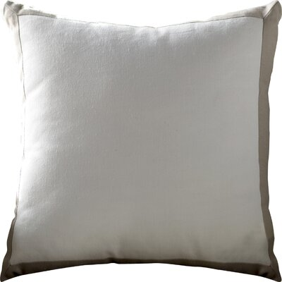 Dahlia Throw Pillow Color: Gray