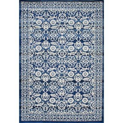 Plumville Blue Area Rug Rug Size: 4 x 6