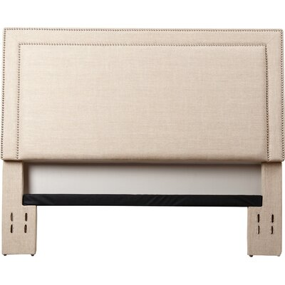 Bethel Upholstered Panel Headboard Size: King/California King