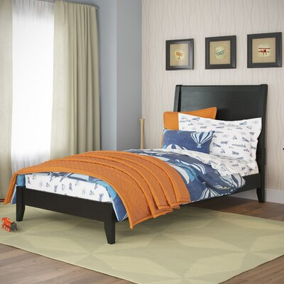 Cherry Platform Bed Size: Twin / Single