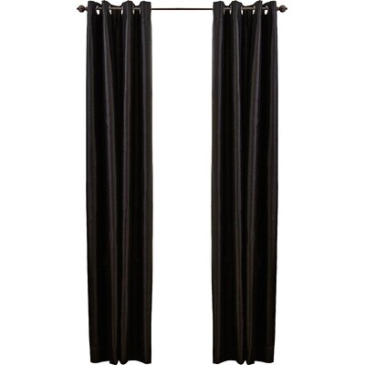 Tucker Grommet Single Curtain Panel