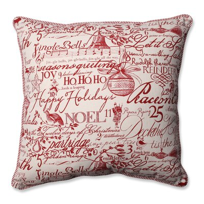 Westmoreland Cotton Throw Pillow Size: 23 H x 23 W x 5 D