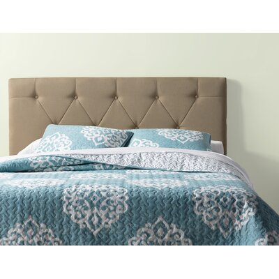 Bernise Upholstered Panel Headboard Size: Full / Queen