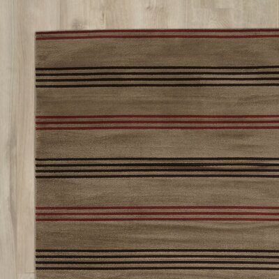 Pleasantville Light Brown Area Rug Rug Size: Runner 23 x 77