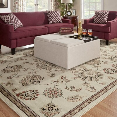 Brownville Beige Area Rug Rug Size: Rectangle 67 x 96
