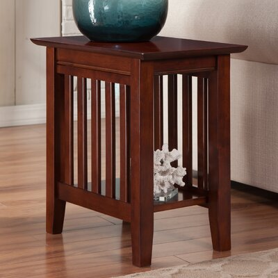Danube Side Table Finish: Walnut
