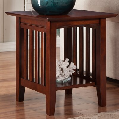 Danube End Table Finish: Walnut