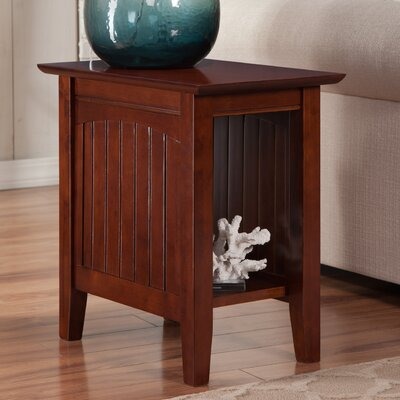 Orangetown End Table Color: Walnut