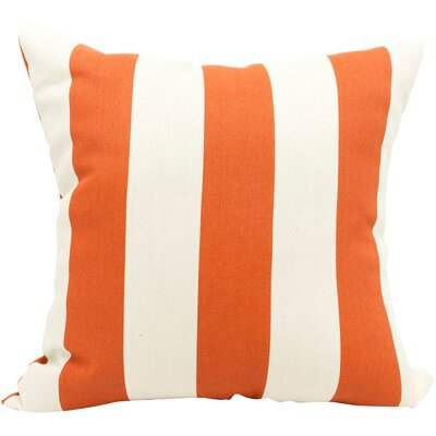 Brino Outdoor Throw Pillow Color: Burnt Orange
