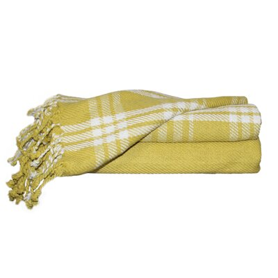 Southington 100% Cotton Throw Blanket Color: Jade