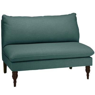 Orleans Armless Loveseat Upholstery: Laguna