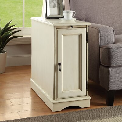 Sweden End Table Finish: White