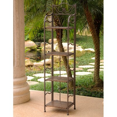 Meetinghouse Bakers Rack Finish: Antique Brown