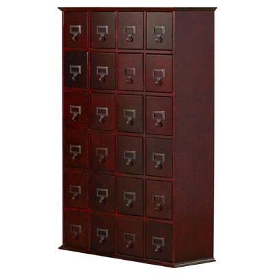 Shillington Multimedia Storage Cabinet Finish: Cherry