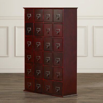 Shillington Multimedia Storage Cabinet Finish: Cherry