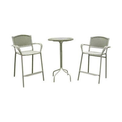 Narron 3 Piece Bar Set Finish: Antique Moss