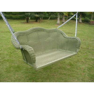 Narron Porch Swing Finish: Antique Moss