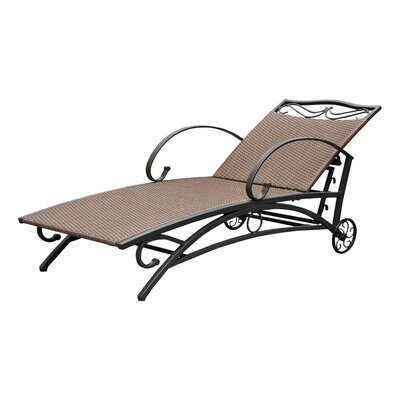 Snowberry Chaise Lounge Finish: Antique Brown