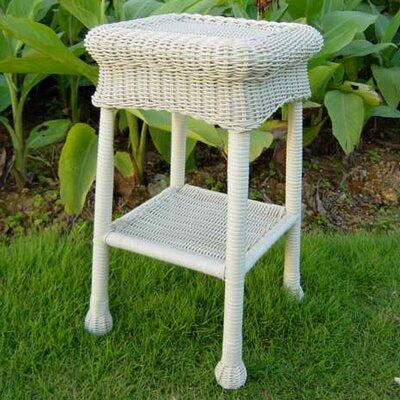 Wyndmoor  Side Table Finish: White