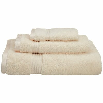 Spring Grove 3 Piece 600GSM Premium Combed Cotton Towel Set Color: Ivory