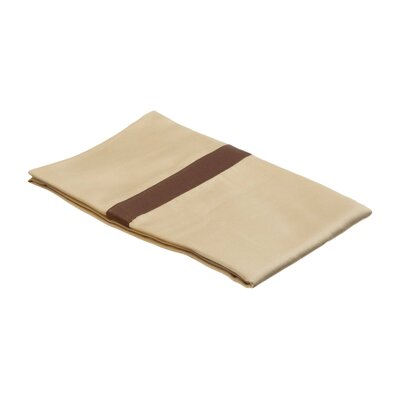 Parish Pillowcase Size: Standard, Color: Honey / Mocha