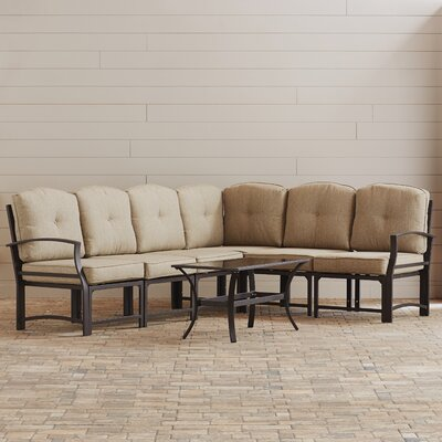 Pavilion 7 Piece Modular Seating Group with Cushion