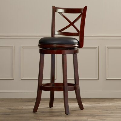 Fairdale 29 Swivel Bar Stool Finish: Light Cherry