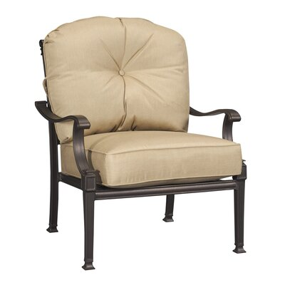 Three Posts Harleigh Lounge Chair with Cushions