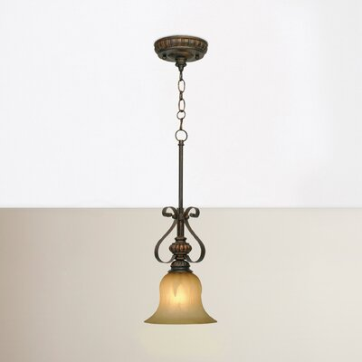 Gregory Scroll 1-Light Mini Pendant