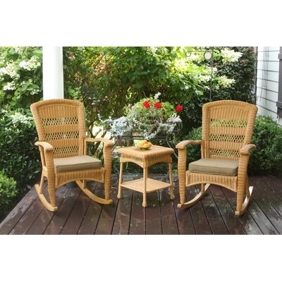Baden 3 Piece Seating Group Finish: Amber