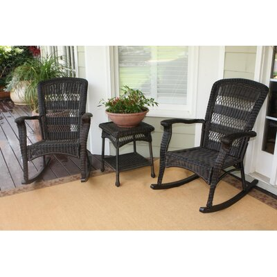 Baden 3 Piece Seating Group Finish: Dark Roast