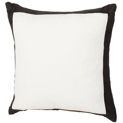 Dahlia Throw Pillow Color: Black