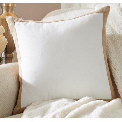Dahlia Throw Pillow Color: Tan