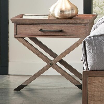 Three Posts Wallaceton 1 Drawer Nightstand